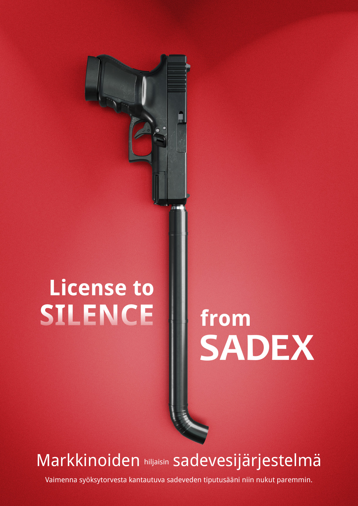 Silence – markkinoiden hiljaisin sadevesijärjestelmä.