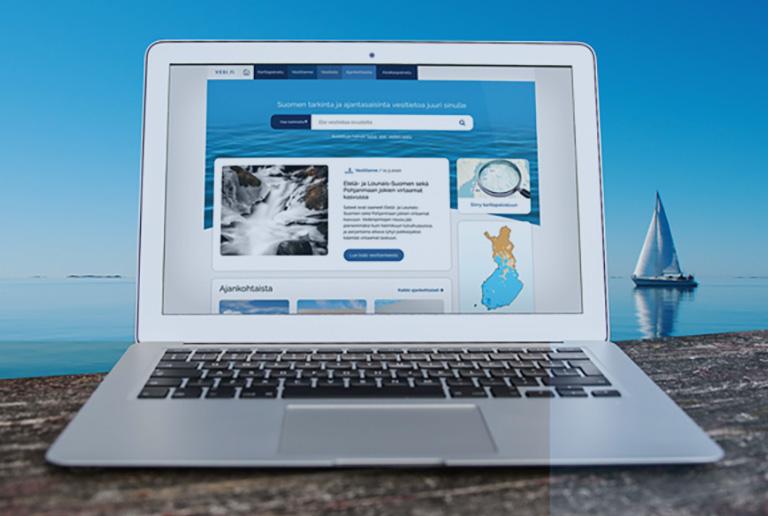 Tärkein vesi.fi-verkkosivuston suunnittelun lähtökohdista oli rakentaa palvelusta helppokäyttöinen ja kaikille käyttäjille saavutettava