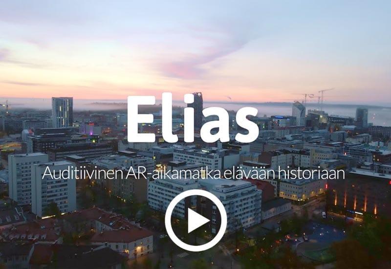 Elias – auditiivinen aikamatka elävään historiaan - kaupunkioppaan demovideo